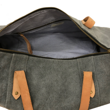 Load image into Gallery viewer, E&E Grey Duffel Bag