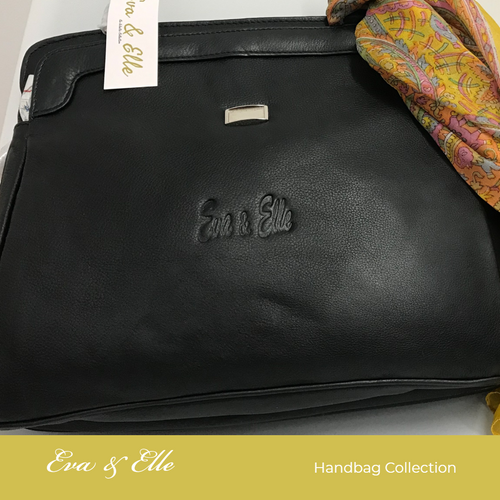 Black - E&E Leather Fashion Handbag