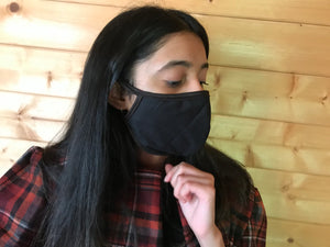 Face Masks with Filter in Colour for all with Bias Tape
