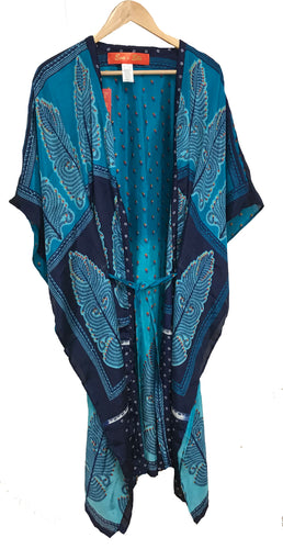 Kimono with Flap sleeves - Royal Blue