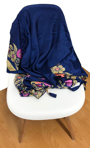 Kimono with Flap sleeves - Navy Blue