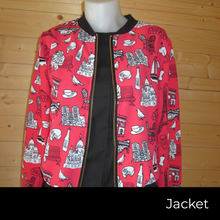 Load image into Gallery viewer, Iconic Design print jacket