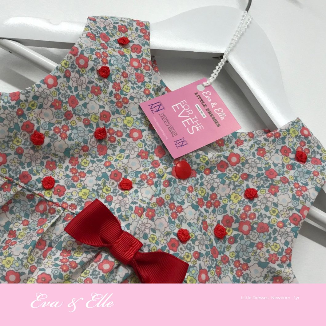 Little Dresses - Dainty Dress - Newborn to 12mths