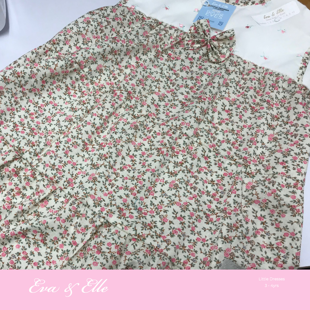 Little Dresses  in tiny floral print  - 3 - 4 years