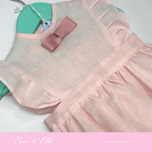 Little Pink Pinafore Dress for Toddler