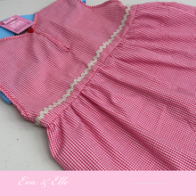 Load image into Gallery viewer, Little Red Gingham Sleeveless for 12 - 18 Months