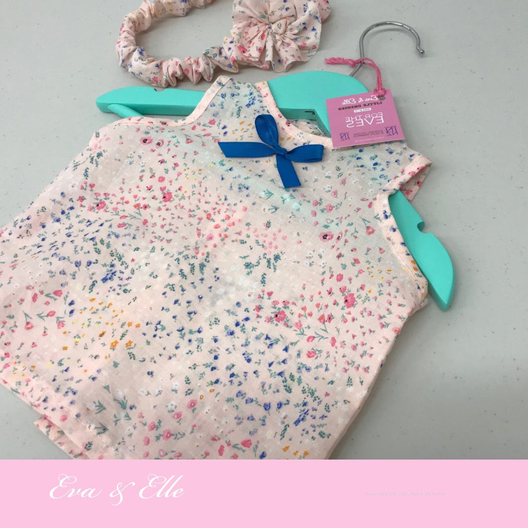 Little Dress & Headband Gift Set for Newborn