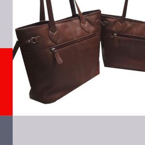 E&E Leather Totes