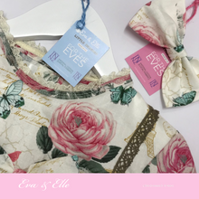 Load image into Gallery viewer, Little Dresses -City of Romance collection for 3 -6 years in two prints