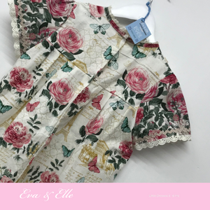 Little Dresses -City of Romance collection for 3 -6 years in two prints