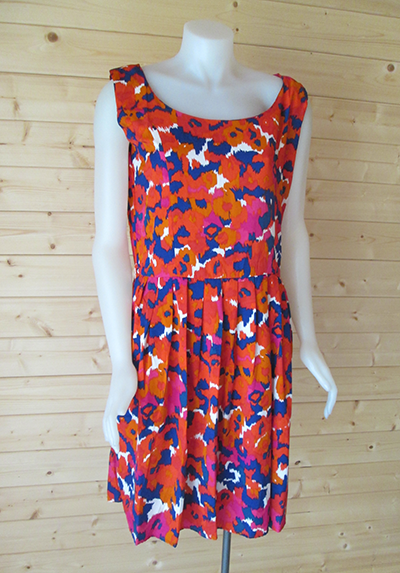 Colorful Print design dress