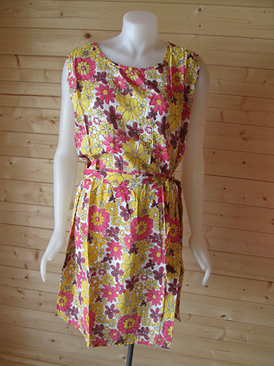 Sunny floral design print dress