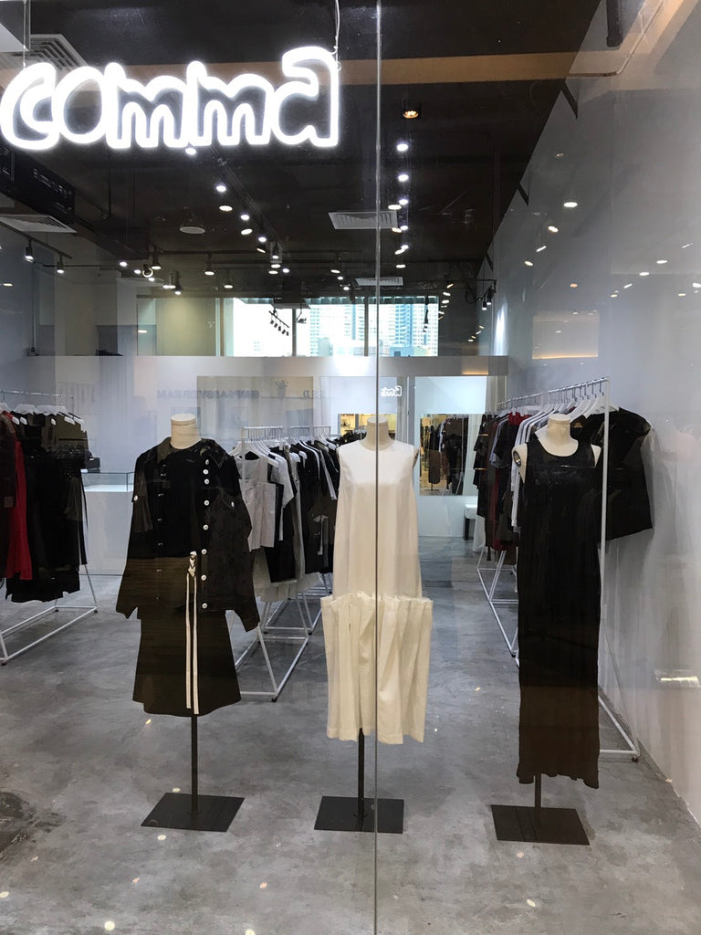 Mani Mina in The Comma Store, Singapore