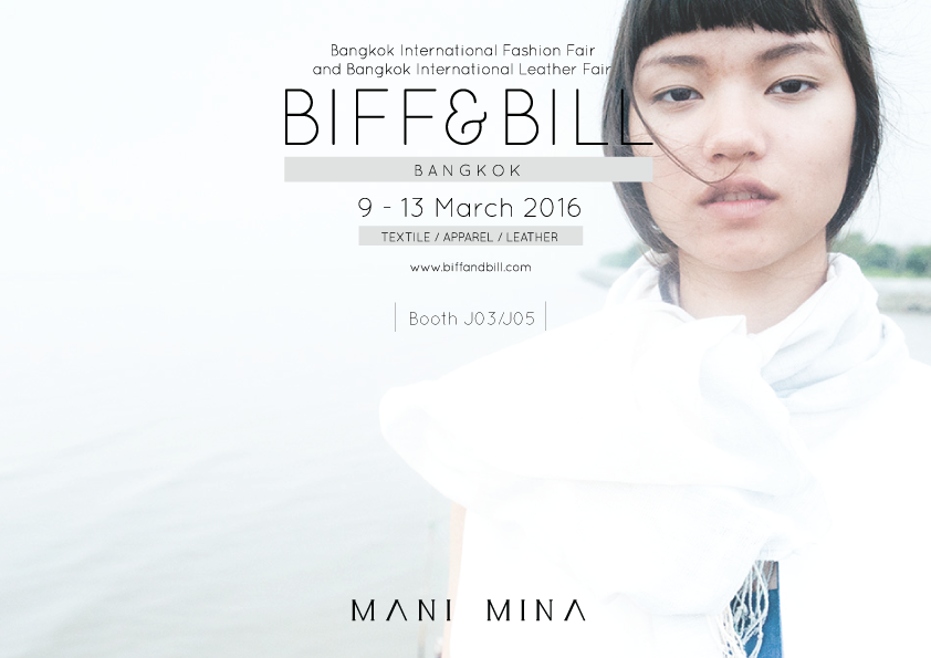 Visit us at Biff & Bill 2016, Bangkok