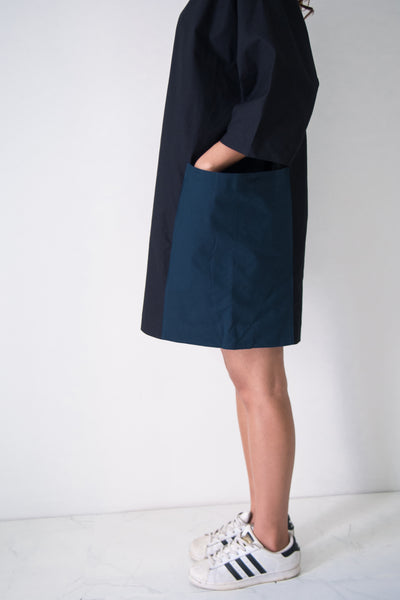 Boxy Dress With 2 Pockets