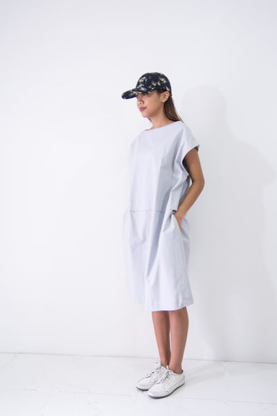 Midi Dress Boat Neck