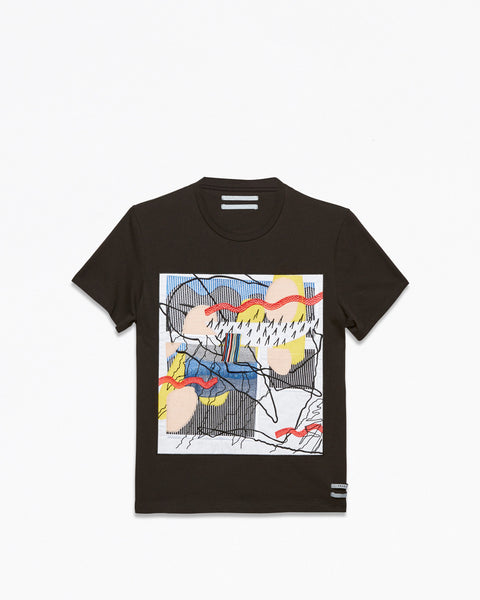 cocurata 4rl patch tee trudy benson art fashion Tシャツ ブランド 通販