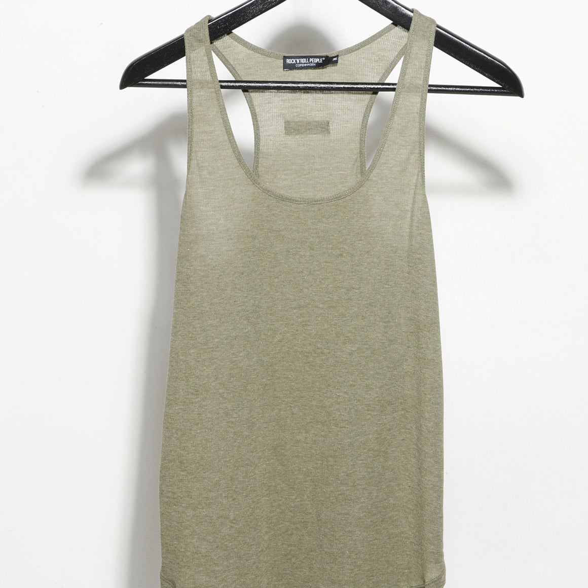 """ANNA"" TANK TOP - OLIVE"