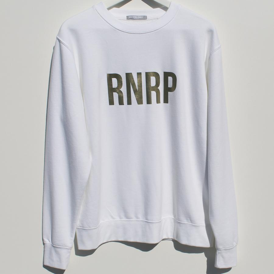 RNRP GOLD ON WHITE