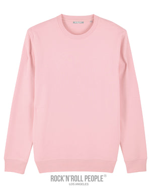 """FREE"" UNISEX SWEATSHIRT - COTTON PINK"