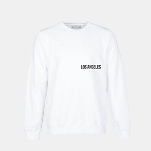 """I JUST WANTED TO BE FREE.."" SWEATSHIRT - WHITE + BLACK"