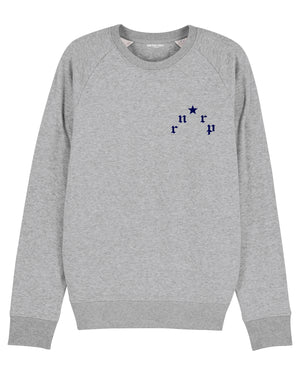 "MENS ""PARIS"" GRAY W. NAVY BLUE PRINT"