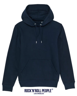 UNISEX PLAIN HOODIE - FRENCH NAVY