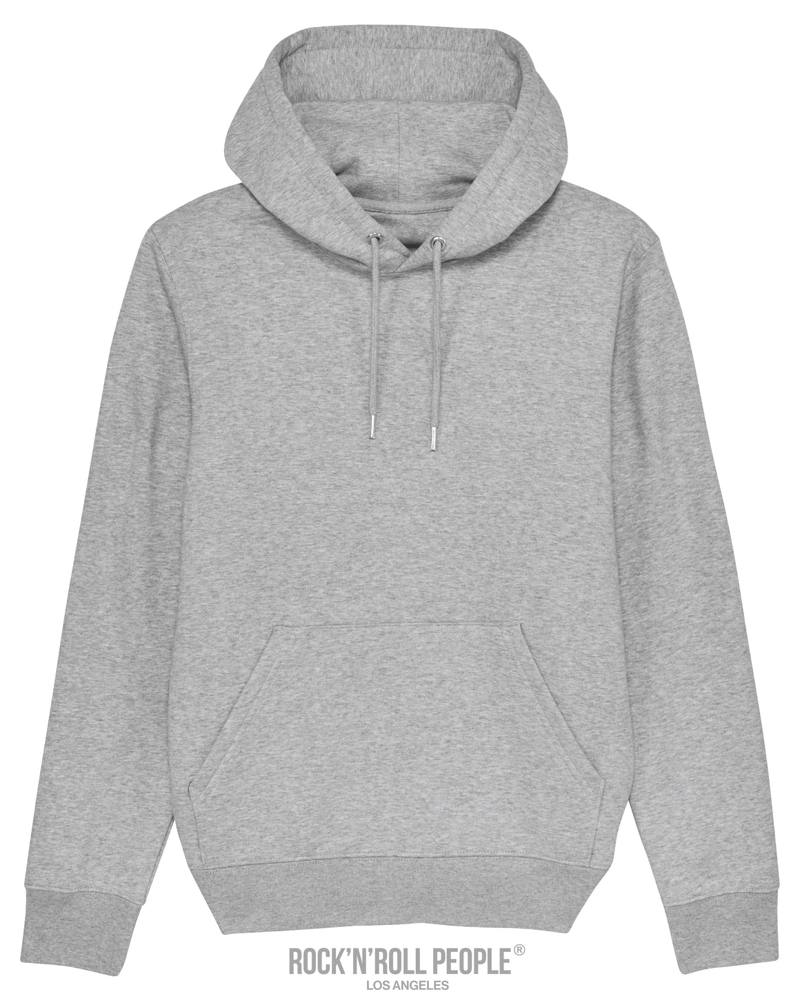 UNISEX PLAIN HOODIE - HEATHER GRAY