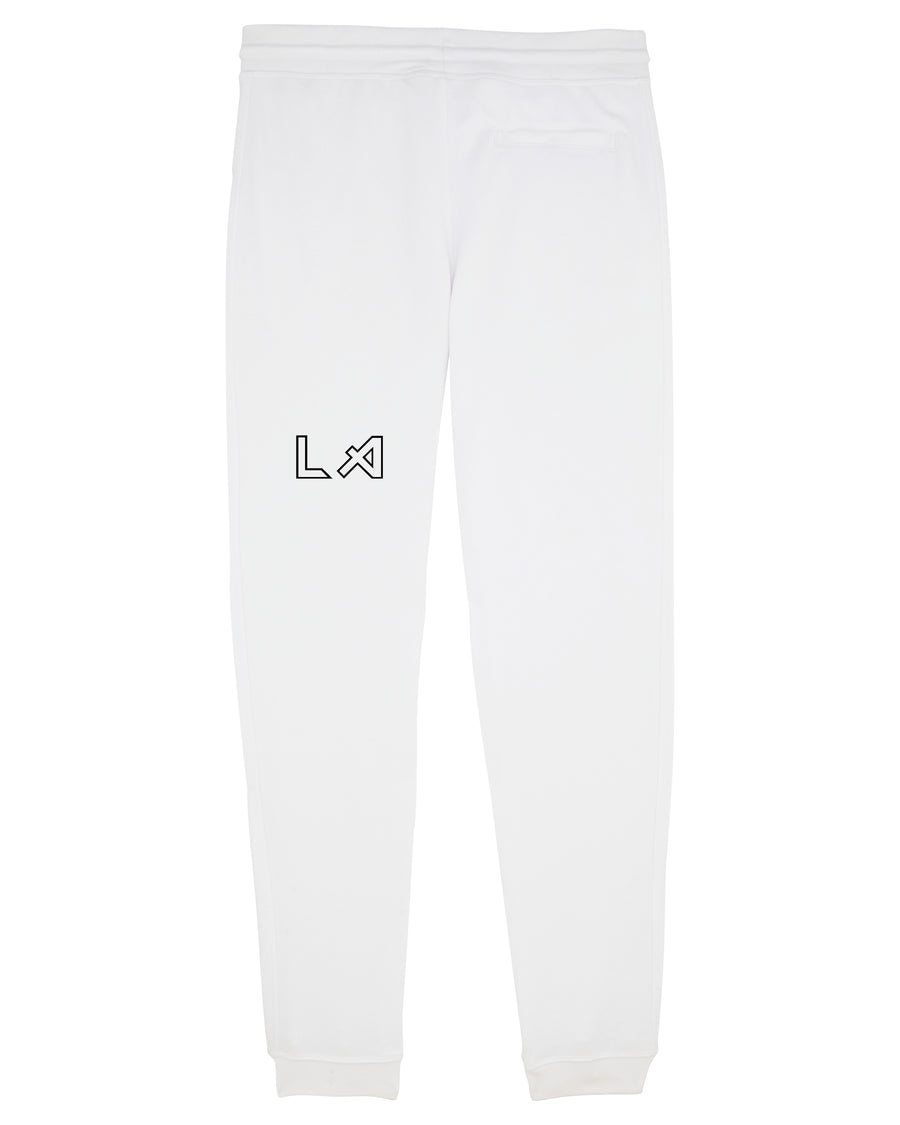 "MENS ""CITY OF ANGELS"" SWEATPANTS - WHITE"