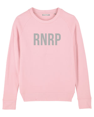 "WOMENS ""RNRP CLASSIC"" - PINK W. WHITE PRINT"