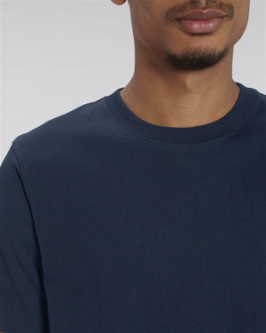 MENS RELAXED FIT T-SHIRT - FRENCH NAVY
