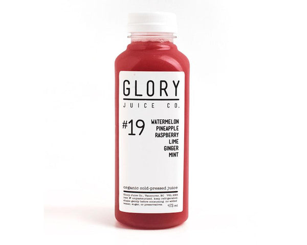 Glory Juice #19 Organic Cold Pressed