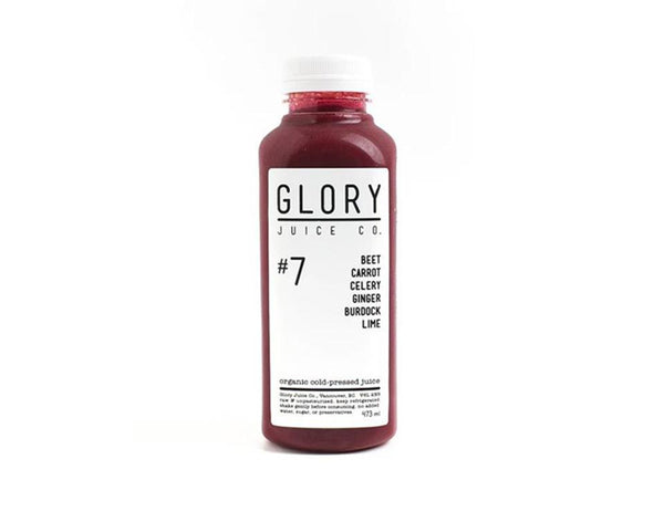 Glory Juice #7 Organic Cold Pressed