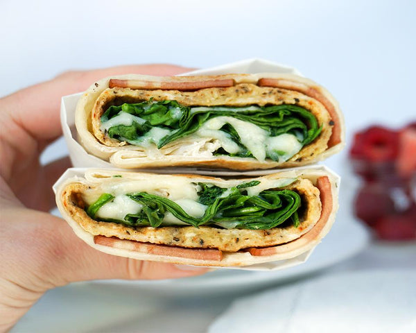 Breakfast Wrap - Muscle Food Vancouver