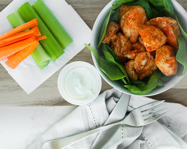(Low Carb) Buffalo Chicken