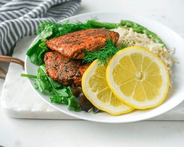 Cajun Salmon - Muscle Food Vancouver