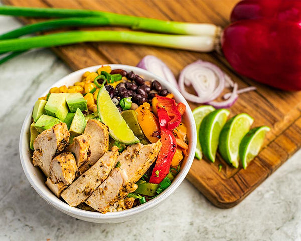 Chicken Burrito Bowl - Muscle Food Vancouver