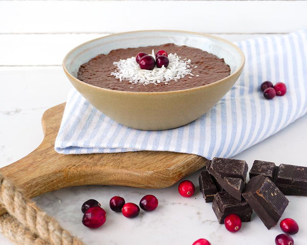 Chocolate Chia pudding - Muscle Food Vancouver