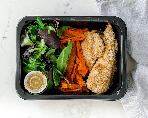 Chicken Tenders & Yam Fries (Family Pack) - Muscle Food Vancouver
