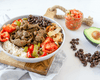 (Low Carb) Carne Asada Beef Bowl - Muscle Food Vancouver