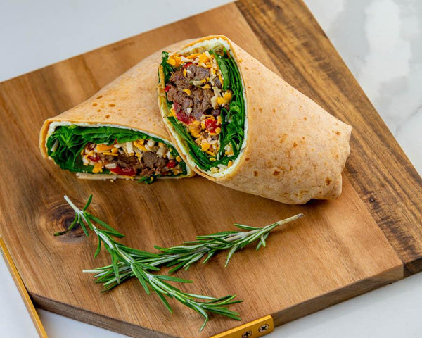 Steak Brekky Wrap