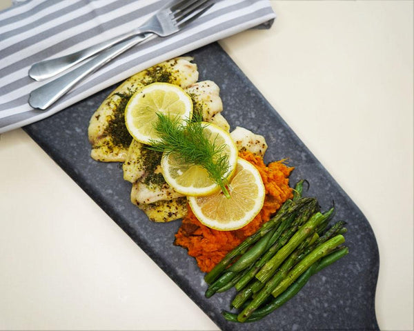 Lemon & Dill Tilapia - Muscle Food Vancouver