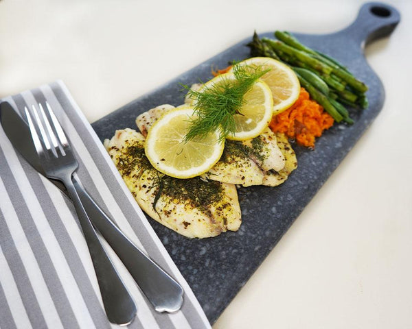 (Low Carb) Lemon & Dill Tilapia - Muscle Food Vancouver