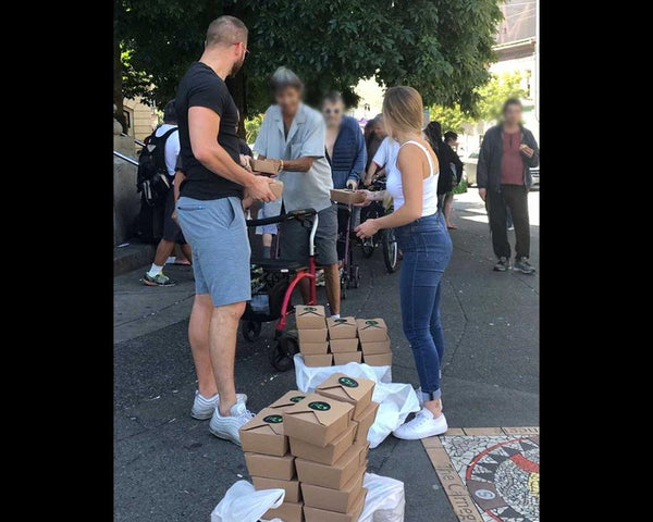 Help The Homeless - Muscle Food Vancouver