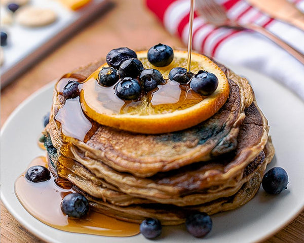 ChocChip Berry Pancakes - Muscle Food Vancouver