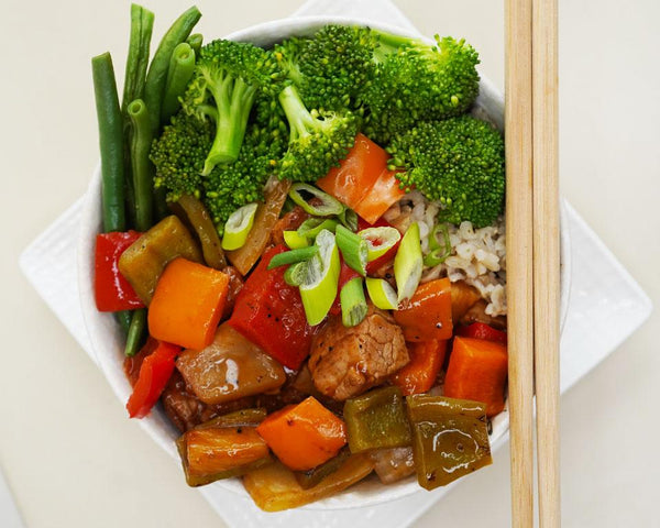 Sweet & Sour Pork - Muscle Food Vancouver