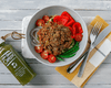 Vegan Zucchini Bolognese - Muscle Food Vancouver