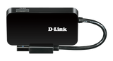 D-Link 4-Port SuperSpeed USB 3.0 Portable Hub DUB-1341