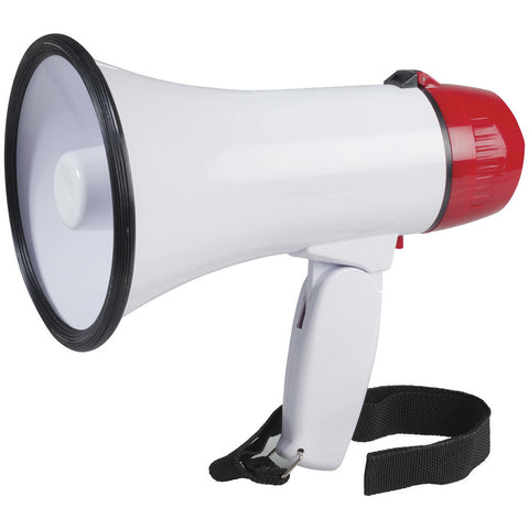 Compact Megaphone with Siren