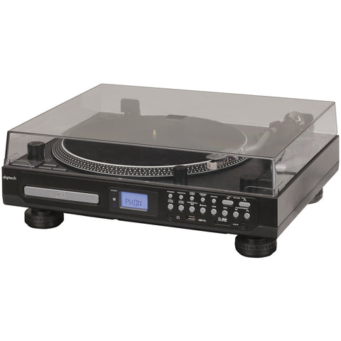 Turntable with CD Player & USB/SD